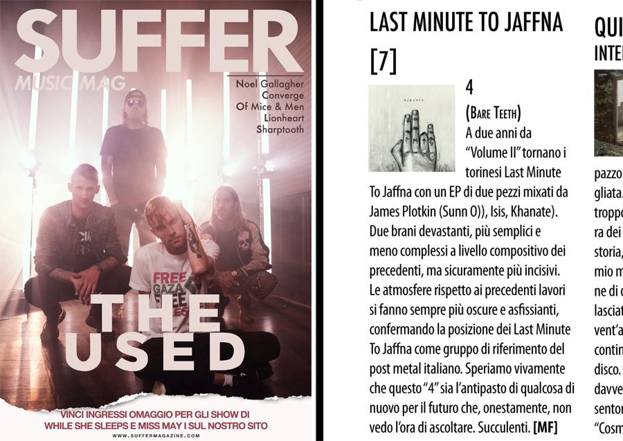 Quattro on Suffer Magazine